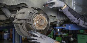 roder les plaquettes de frein