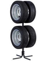 Test et avis sur le support de rangement pour pneu et jantes Unitec 10905