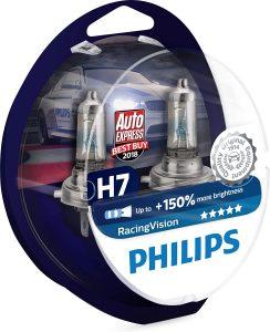 Ampoule H7 Philips RacingVision 150%