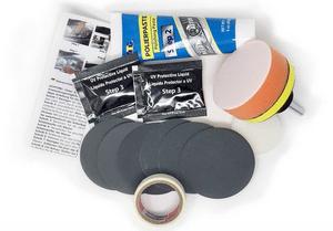 Test et avis sur le kit rénovation phare ATG Polish