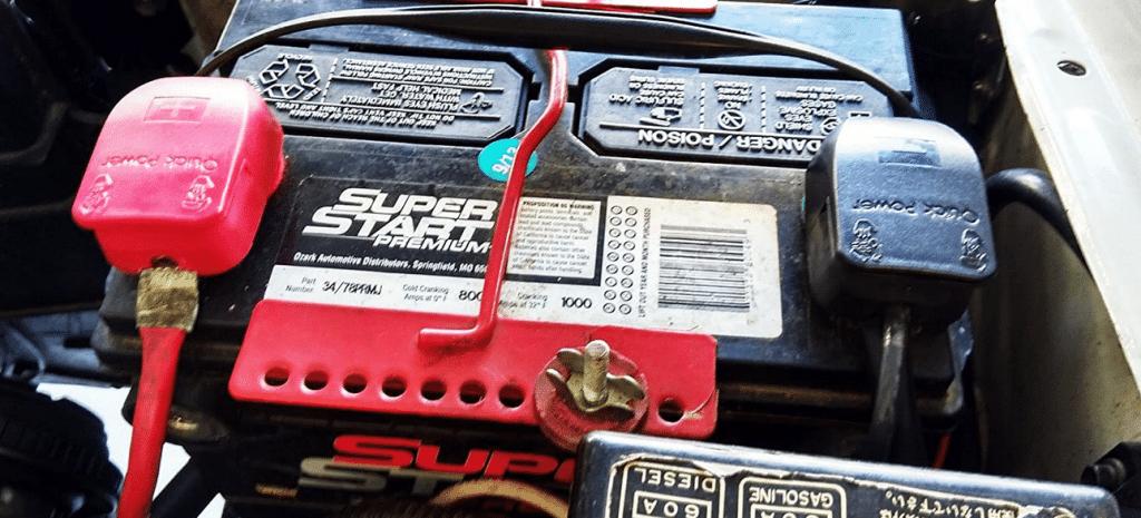 cosse batterie auto