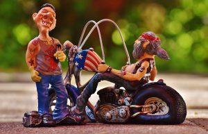 objets décoratifs pour un fan de moto
